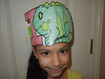 "Alphabet ""I is for iguana"" Spanish hat patterns (5 versions)"