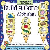 Alphabet - Ice Cream Cone Alphabet Match