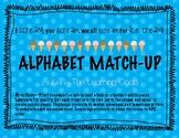 Alphabet Match Up - I scream for Ice cream!