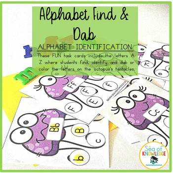 Alphabet Identification Activity