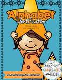 Alphabet Identification - Leveled Center Activity