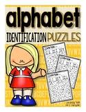 Alphabet Identification Puzzles