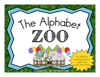 Alphabet Zoo Game - Identify uppercase and lowercase lette