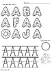 Alphabet Identify & Trace Uppercase Letters