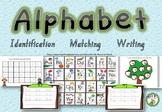 Alphabet- Identify, match, write
