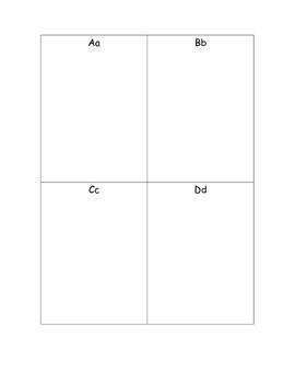 Alphabet Illustration Book