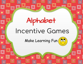 Alphabet Incentive Games