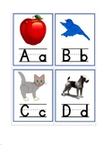 Alphabet Individual Assessment Cards