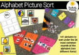 Alphabet Initial Beginning Sound Picture Sort #betterthanchocolate