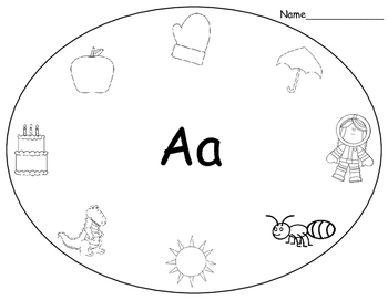 Alphabet Sounds Practice Pages