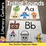 Alphabet Initial Sounds Matching Literacy Center