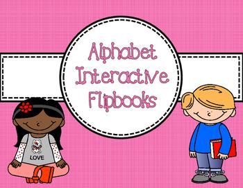 Alphabet Interactive Flipbook - For Little Learners