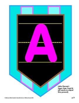Alphabet Interactive Banner - Chalkboard-Style-Alphabet Fun!