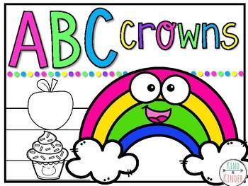 Alphabet {ABC} Printable Crowns