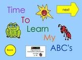 Alphabet Interactive EBook for Learning Alphabet
