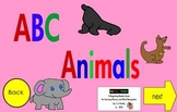 Alphabet Interactive EBook for Learning Alphabet Letters and Sounds