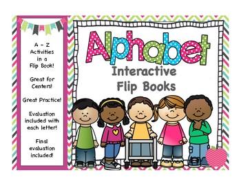 Alphabet Interactive Flipbook A-Z