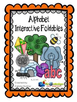 Alphabet Interactive Foldable Booklets