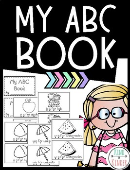 Alphabet My ABC's Guided Reading Book