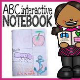 Letter Interactive Notebook - Preschool and Kindergarten A