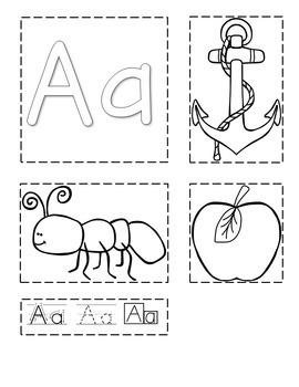Letter Interactive Notebook - Preschool and Kindergarten Approved!