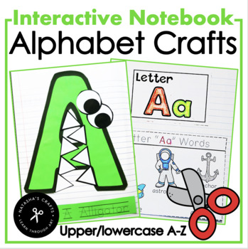 Alphabet Interactive Notebook / Uppercase Crafts