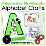 Alphabet Interactive Notebook / Uppercase Crafts