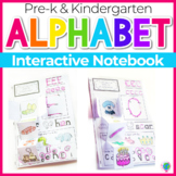 Alphabet Interactive Notebook for Letter Recognition and Phonetic Awareness