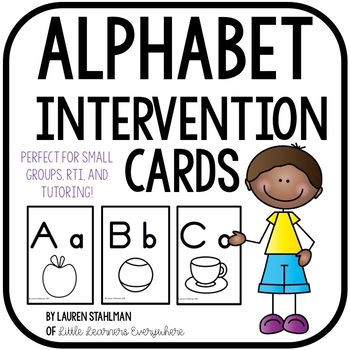 Alphabet Intervention Cards