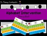 Alphabet Intervention Sheets