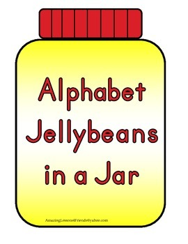 Alphabet Jellybeans in a Jar