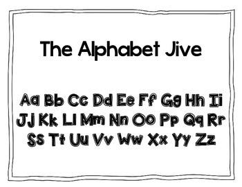 Alphabet Jive Chant