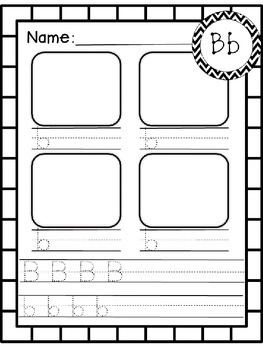 Alphabet Journal - Kinder by Kristin