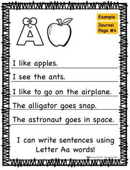 Alphabet Journal A-Z Mega Bundle!
