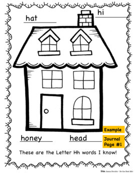 Alphabet Journal  E-H PLUS Graphic Organizers! Whole Class & Individual Work