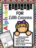 Alphabet Journal - Letter Of The Week