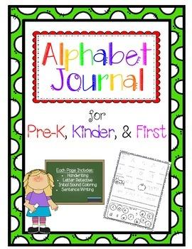 Alphabet Journal-Letter Study