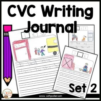 CVC Alphabet Journal:  Set 2