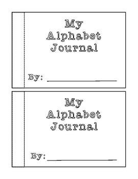 Alphabet Journal Template