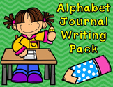 Alphabet Journal Writing Paper:  Journals for ABC and Writing Center