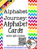 Alphabet Journey: Alphabet Cards with QR Codes