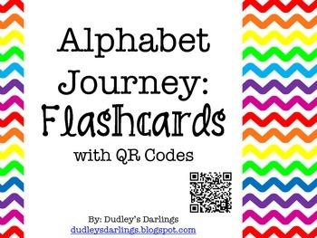 Alphabet Journey: Flashcards with QR Codes