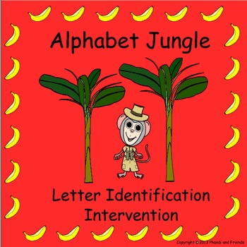 Alphabet Jungle Letter Identification Intervention