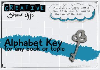 Alphabet Key Reading Response - Any topic, a variety of applications!