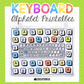 Alphabet Activities   Alphabet Keyboard Practice   Letter Sounds