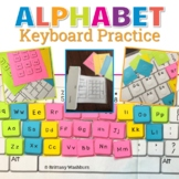 UNPLUGGED Alphabet Keyboard Practice with Giant Keyboard