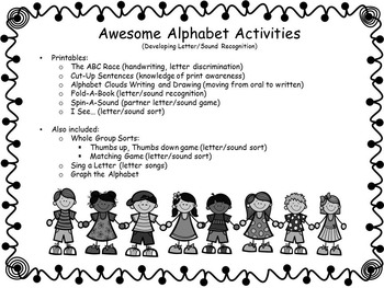 Alphabet-Kiddos Connect ALL Year with Awesome Alphabet Activities