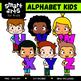 Alphabet Kids COLOSSAL Bundle Clip Arts