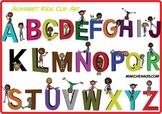 Alphabet Kids Clip Art - Clipart Commercial Use OK