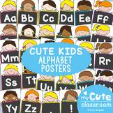Alphabet Posters {Cute Kiddos Classroom Decor}